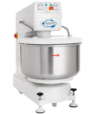Spiralmixer with integrated bowl SP 24 – SP 160