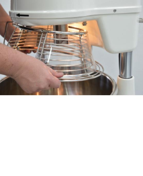 PLANETARY MIXER with bowl volume 40 to 60 l