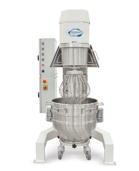 PLANETARY MIXER with bowl volume 80 to 150 l