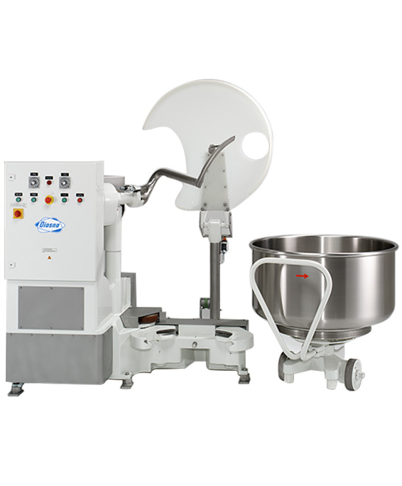 L-shaped mixer